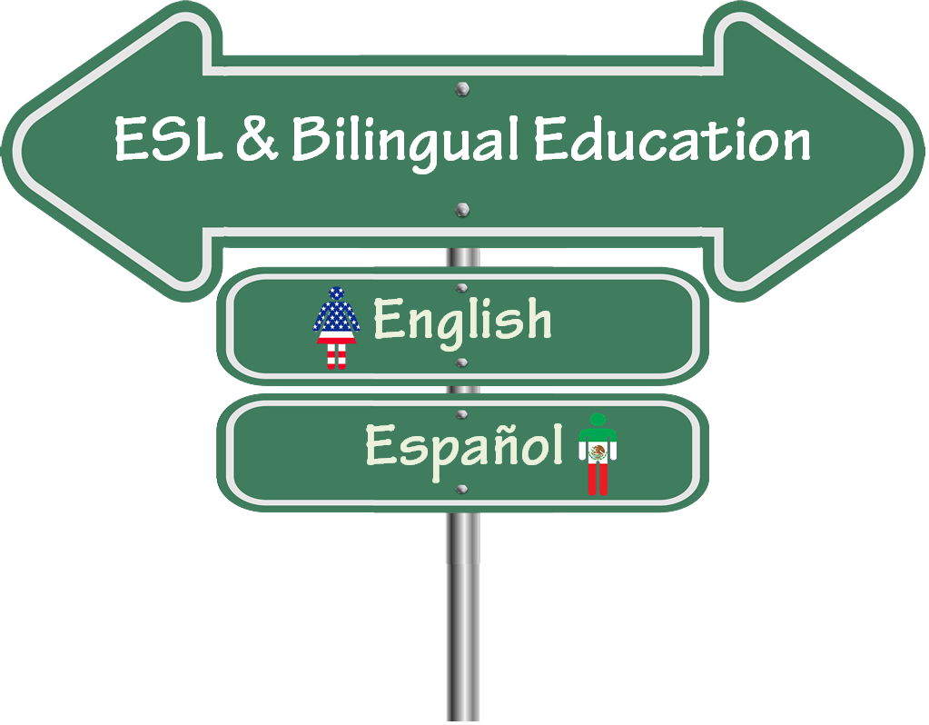 ESL and Bilingual Education Graphic