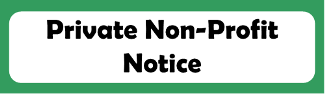 Button link to the required posting of the notice to private non-profit schools within Lake Worth ISD boundaries