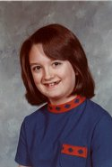 Photo of Ms. Cartwright at age 13